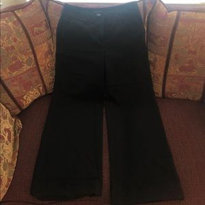 NewYork &Co Black Business Casual Wide Leg Pants 6